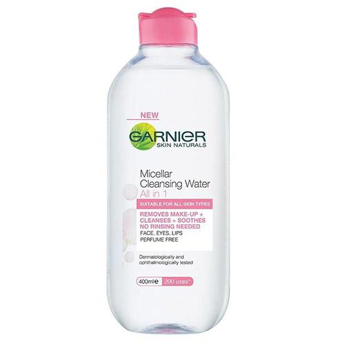 Micellar Cleansing Water de Garnier