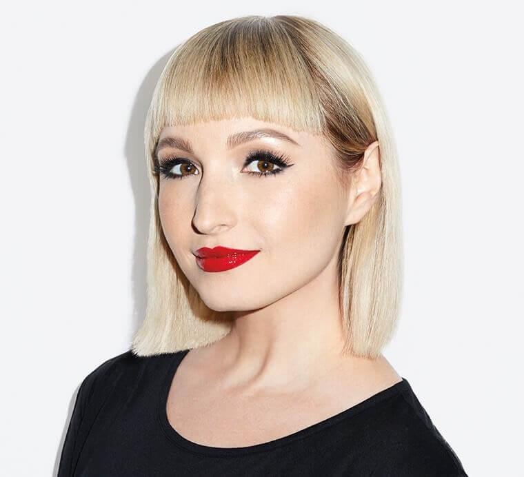 Vlada Haggerty: La famosa artista que crea arte en labios.
