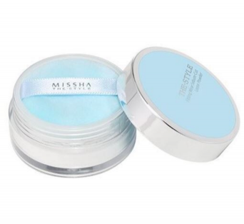 The style fitting wear sebum-cut loose powder de MISSHA