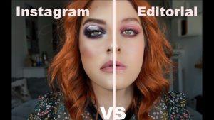 Maquillaje social vs Maquillaje editorial