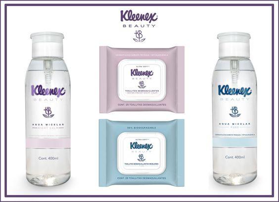 Productos Kleenex beauty