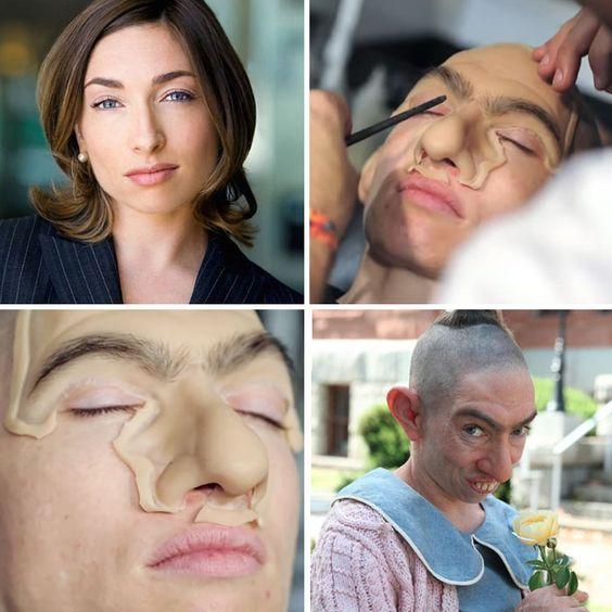Impactantes transformaciones de maquillaje y FX